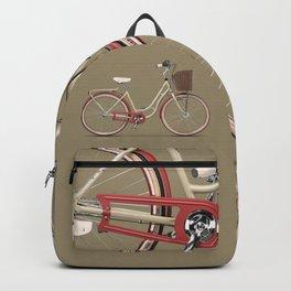 Vintage Bicycle Backpack