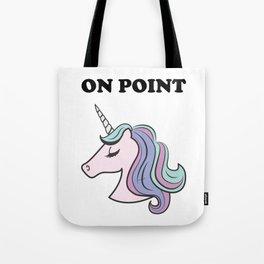On Point Unicorn Tote Bag