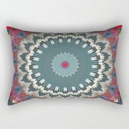 Basal Color Mandala 1 Rectangular Pillow