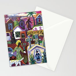 Busy Day in Purgatory Stationery Cards