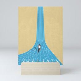 100m | Athletic Track | Motivational  Mini Art Print