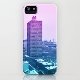 Spring in winter iPhone Case