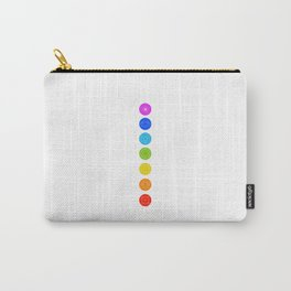 Chakra symbols with respective colors- Spiritual gifts Carry-All Pouch