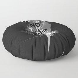 hypnotic pessimist Floor Pillow