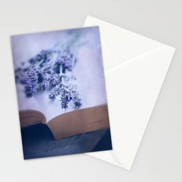 Summer Lavender Stationery Cards