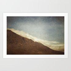 Cloud Flooded Art Print