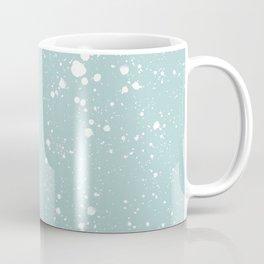 Duck Egg Blue Speckled Pattern Coffee Mug