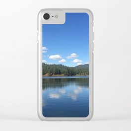 Lake Life Clear iPhone Case