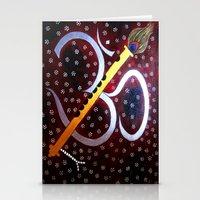 om Stationery Cards featuring Om by Priyanka Rastogi