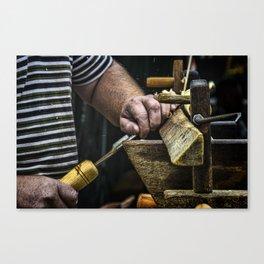 The Chair Bodger Canvas Print