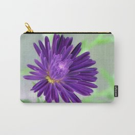 Purple Aster - Inverted Art Series Carry-All Pouch