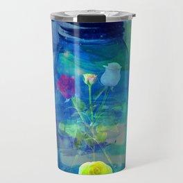 Flowers Jars Travel Mug