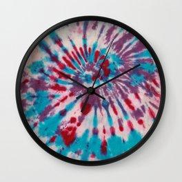 Umas Tye Dye Wall Clock
