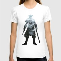 skyrim T-shirts featuring Skyrim by Ioana Muresan