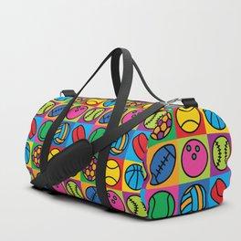 Sport Ball Pop Art Duffle Bag