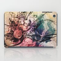 drum iPad Cases featuring Drum by Joanne Chen