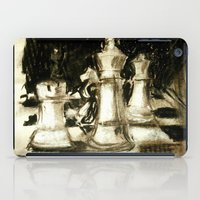 chess iPad Cases featuring Chess by James Peart