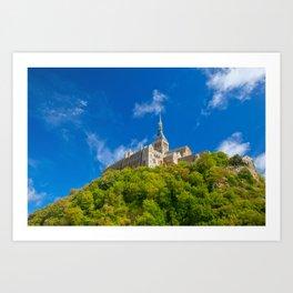Mont Saint-Michel Abbey Art Print