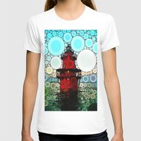 lighthouse T-shirts featuring Lighthouse by Thephotomomma