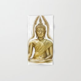 Golden Buddha Hand & Bath Towel