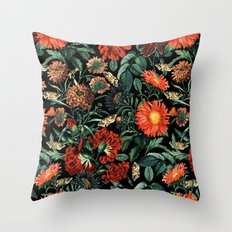 NIGHT FOREST XVIII Throw Pillow