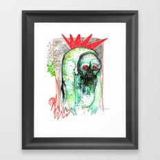 The Dangerous Mongrel Framed Art Print