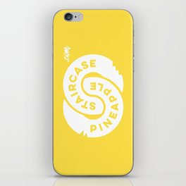 PineappleStaircase | Official Logocolor 2016 in Yellow/White iPhone Skin