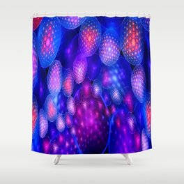 Poetry from Colliding Energy Shower Curtain