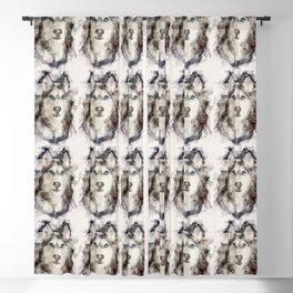 Tika'ani our Siberian Husky Blackout Curtain
