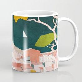 south france coast landscape Coffee Mug