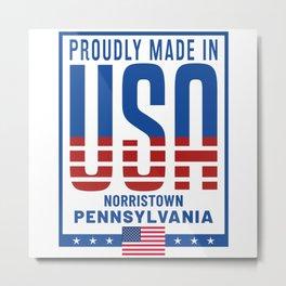 Norristown Pennsylvania Metal Print