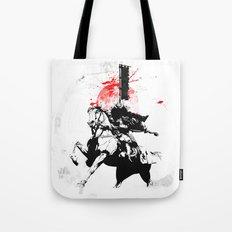Samurai Japan Tote Bag