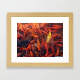 SEA OF GOLD Framed Art Print