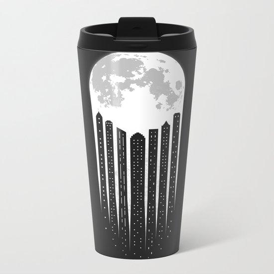 Moon-City Metal Travel Mug