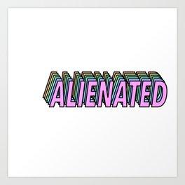 Alienated Art Print