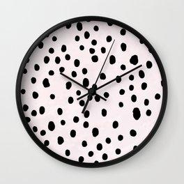 Dalmatian Spots Large Wall Clock