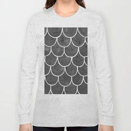 Grey chalk roof tiles Long Sleeve T-shirt