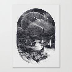 Strangers Canvas Print