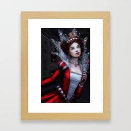Killer Queen of Hearts Framed Art Print