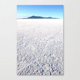 Bonneville Salt Flats, Utah Canvas Print