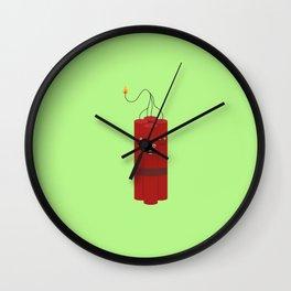 Dynamite explosion guys T-Shirt Dx4x1 Wall Clock