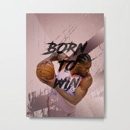 basketball player Metal Print