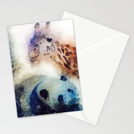 Animals Painting Stationery Cards