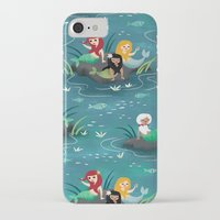 mermaids iPhone & iPod Cases featuring Mermaids by Miss Fortune