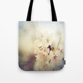 White Poppy Grudge Tote Bag