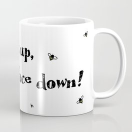Bits up, face down! Sera Coffee Mug