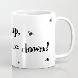 Bits up, face down! Sera Coffee Mug