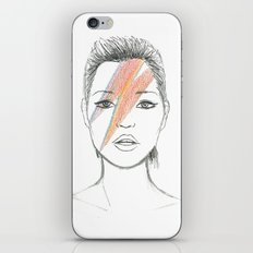 Moss X Bowie iPhone & iPod Skin