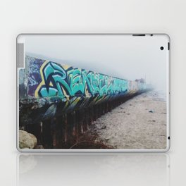 Beach Graffiti Laptop & iPad Skin