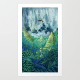 1001 Nights Art Print